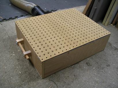 Downdraft Sanding Table Plans